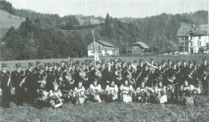 Musikgesellschaft Eggiwil Neuuniformierung 1969