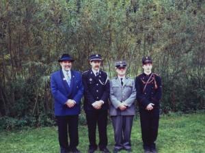 Uniformeinweihung 1996